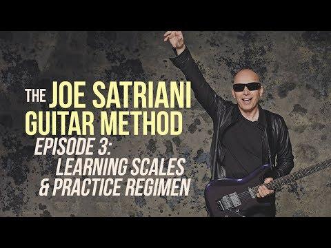 The Joe Satriani Guitar Method - Episode 3: Learning Scales & Practice Regimen