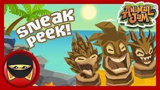 Tiki Trouble Returns! | Animal Jam - Sneak Peek