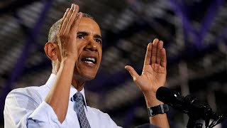 Baixar Obama says Trump 'is capitalizing on resentments' fanned for years