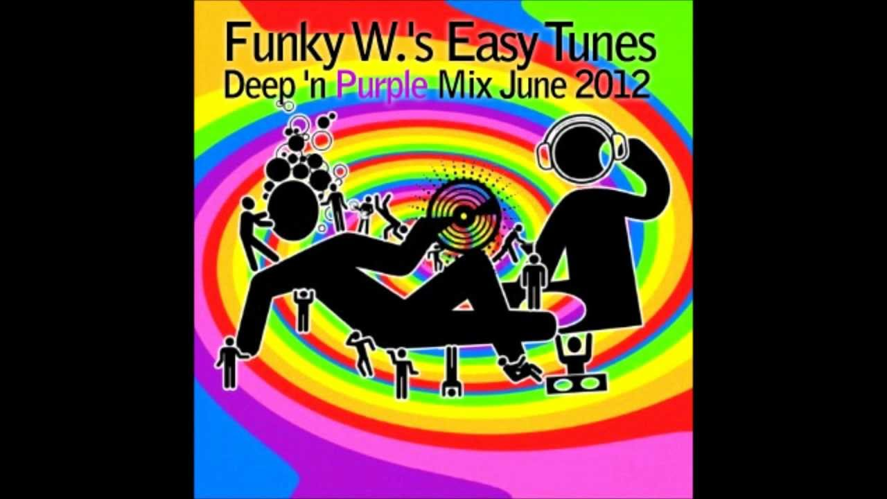 Funky w 39 s easy tunes deep house 39 n purple mix june for Funky house tunes