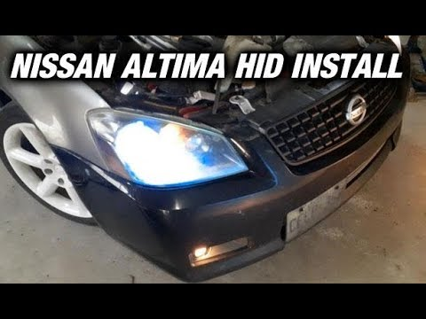 How To Install HID's On A Nissan Altima