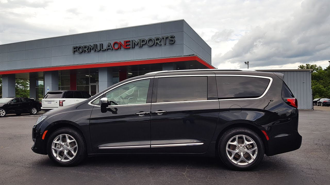 2017 Chrysler Pacifica Limited - For Sale - Formula One ...