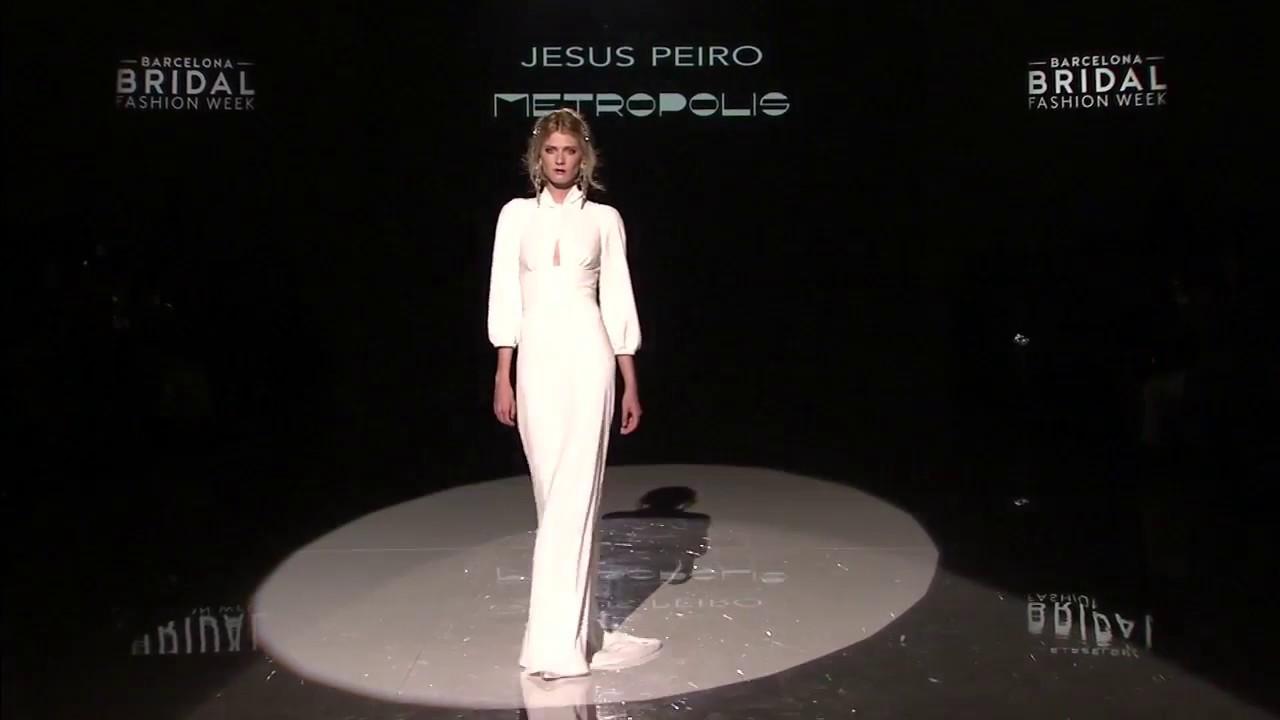 Abiti Da Sposa Jesus Peiro 2018.Jesus Peiro Metropolis Collection Wedding Dresses On The Catwalk