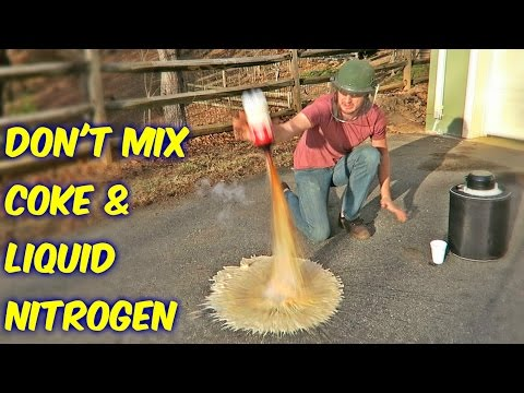 Thumbnail: Don't Mix Coke with Liquid Nitrogen!
