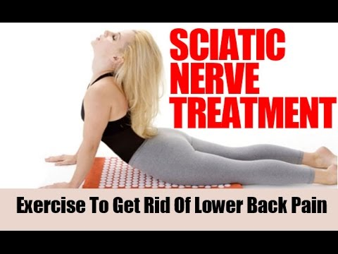 How do you relieve sciatic nerve pain?