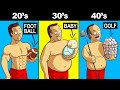 5 Reasons Men Gain Weight After 30