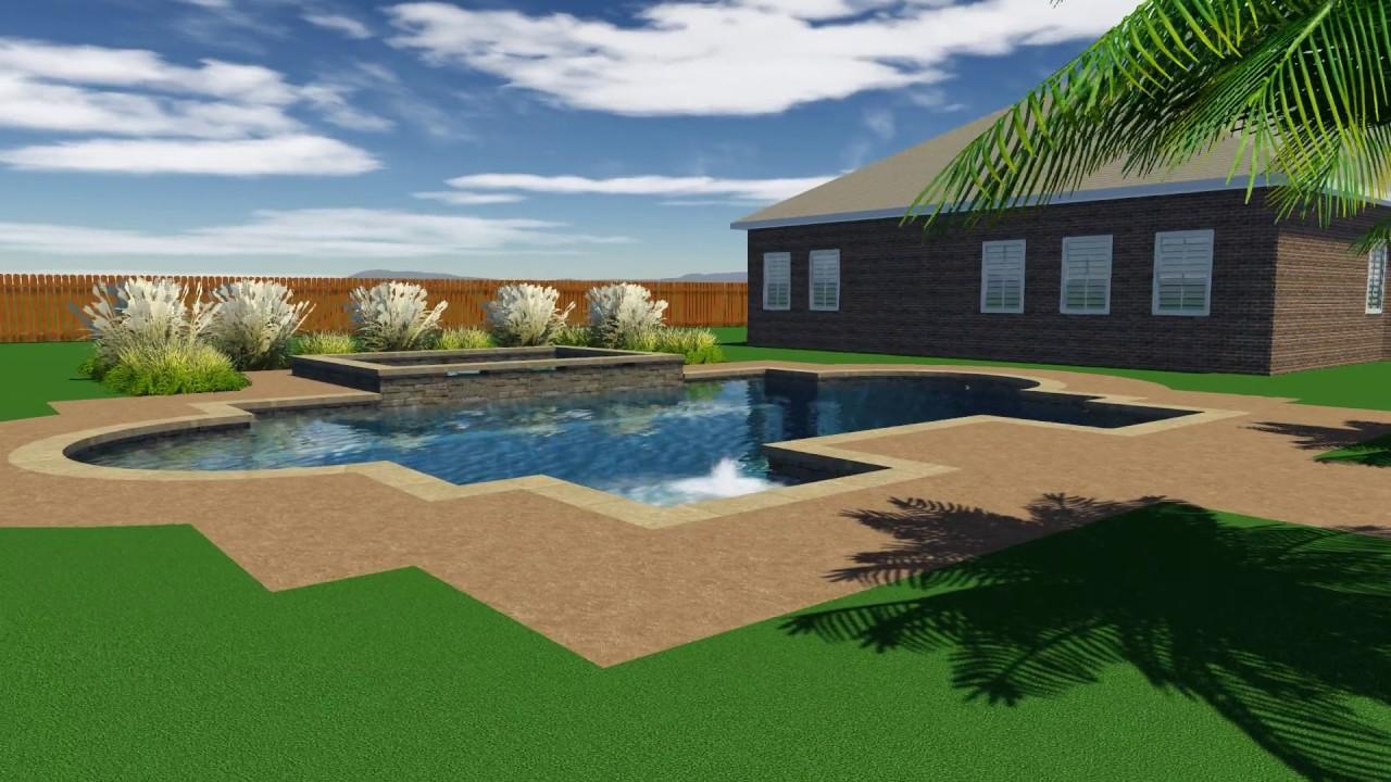 Baud Pool Design By Backyard Amenities