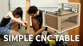 Simple CNC Table with Storage