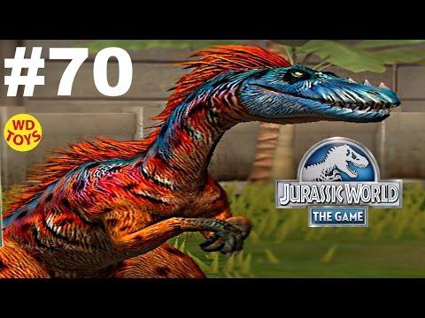 Jurassic World - The Game Dinosaurs Ludia Episode 70 Carnivore Draft Gameplay Walkthrough - WD Toys