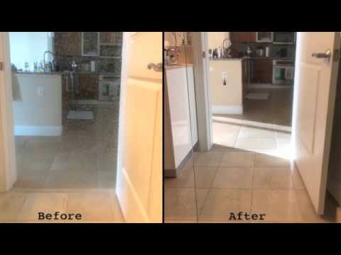 How to clean stains off shower glass