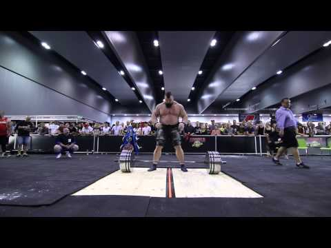 Brian Shaw + Eddie Hall do 420kg at Arnold Expo, whose was easier?