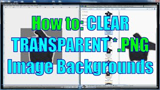 Create Image with Clear Transparent Background (*.PNG in GIMP)
