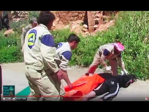 """YouTube - The Indicter Channel - White Helmets assisting at al-Qaeda execution. Shown in Hollywood's """"Last Men in Aleppo""""?"""