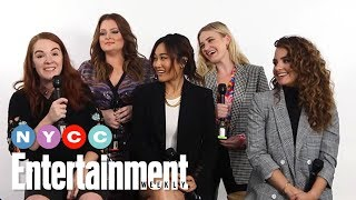 She-Ra And The Princesses Of Powers AJ Michalka, Lauren Ash & More | #NYCC19 | Entertainment Weekly YouTube Videos