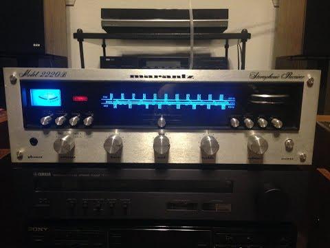Marantz 2220B Receiver Repair (No Sound Output)