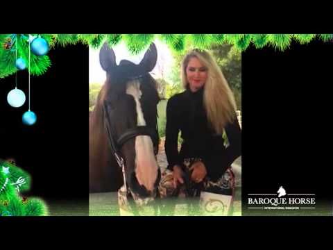 """Christmas wishes from Heather Currie and """"Hatero de PB"""""""