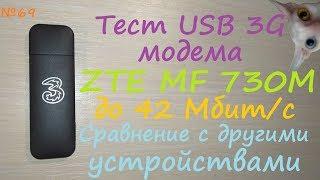 USB 3G модем ZTE MF730 - тест обзор - сравнение с huawei e3531 и xiaomi redmi 3