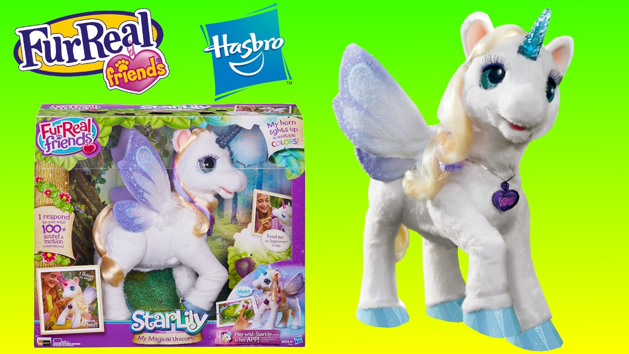 Like Toy Tv : Fureal friends starlily magical unicorn cute pet christmas