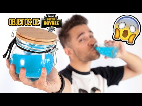 3 Objects of FORTNITE in REAL LIFE - FORTNITE BATTLE ROYALE