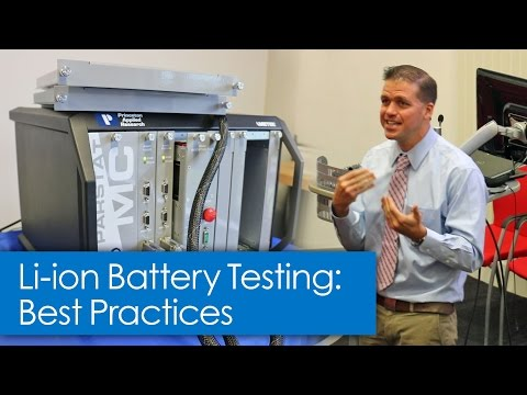 Li-ion Battery Testing - Best Practices for Experiment Set-up on your Potentiostat