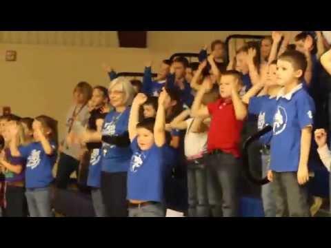 "St Mary Parish Catholic School - Catholic Schools Week prayer rally - ""Yes, Lord,"" primary grades"