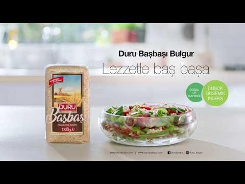 Gülben Ergen'in Salatasının Sırrı: Duru Başbaşı Bulgur 17sn