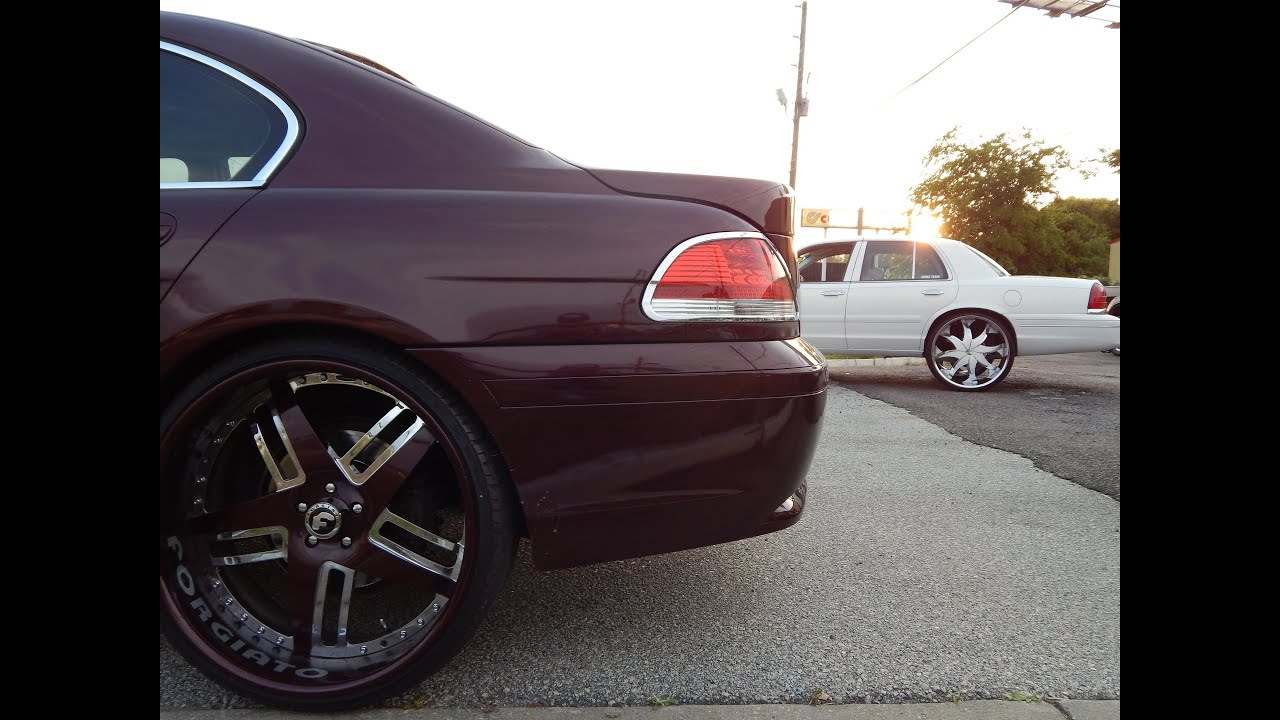 Bmw 745 On 24s Wwwtollebildcom