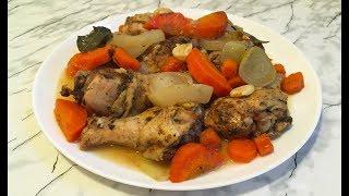 Курица в Банке / Chicken in the Pot / Простой Рецепт (Очень Вкусно)