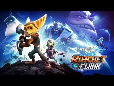 Let's Play Ratchet & Clank 2016 - Part 1 (Ship Repair)