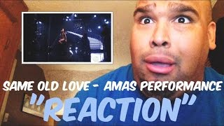 Selena Gomez - Same Old Love AMAs Performance 2015 [REACTION]