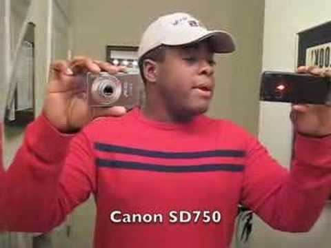Video Quality: Canon PowerShot SD750 vs Nokia E90