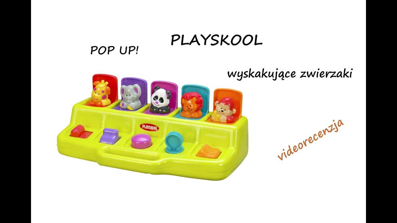 83aecdaa4c7d Playskool POP UP  wyskakujące zwierzaki  videorecenzja  - YouTube