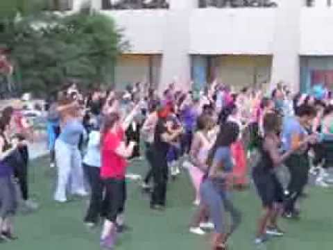 Zumba on the Elevated Acre
