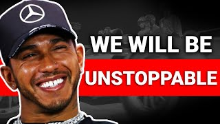 Lewis Hamilton Reacts To George Russell's New Signing With Mercedes