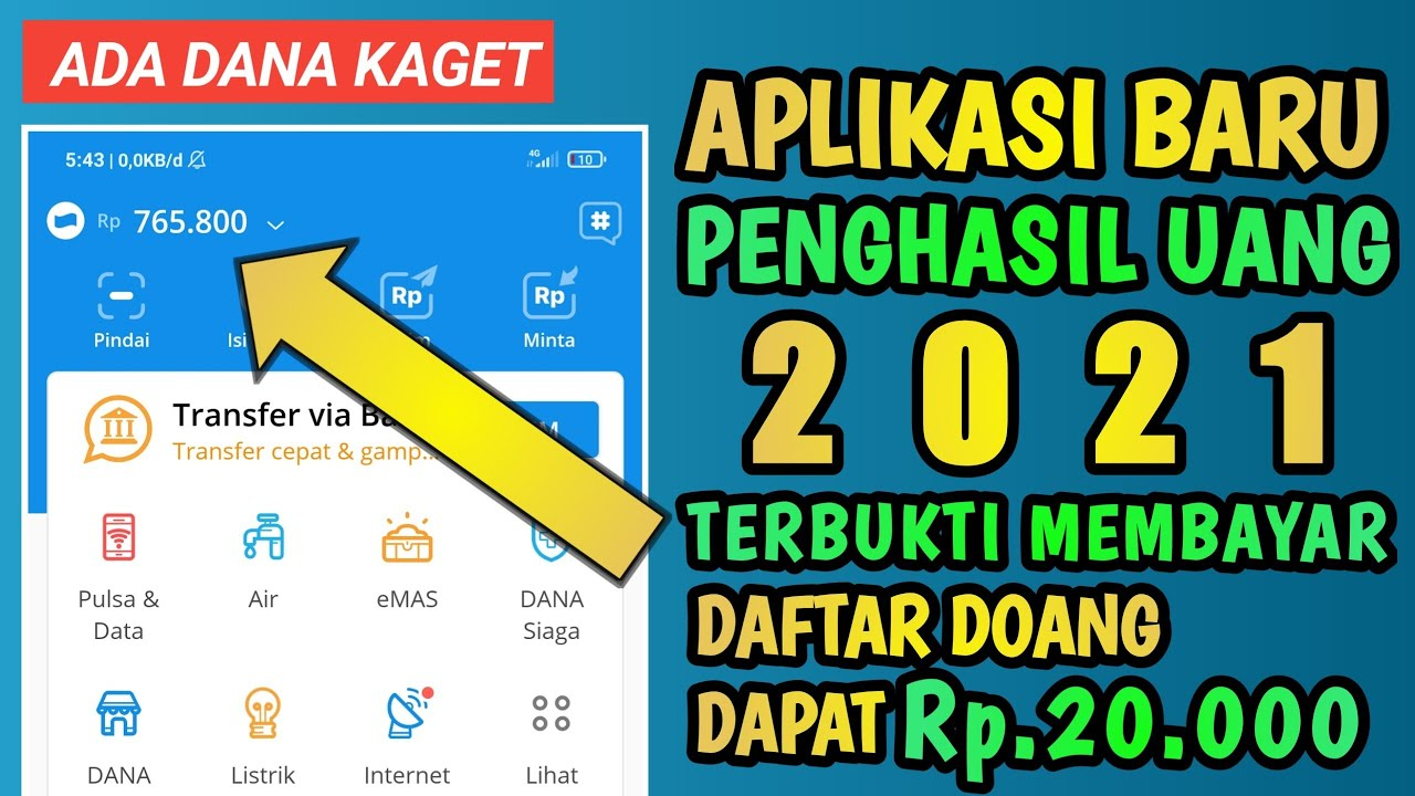 APLIKASI BARU PENGHASIL UANG TERCEPAT 2021 | APLIKASI ...