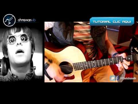 Wonderwall - OASIS - Cover Guitar Tutorial Guitarra Acustica Cover