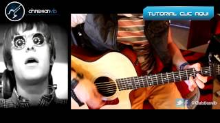 Wonderwall - OASIS - Cover Guitar Tutorial Guitarra Acustica Cover