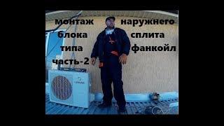 видео Фанкойлы потолочные