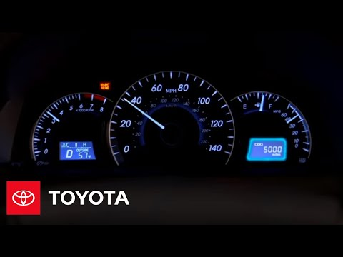 2012 Camry How-To: Instrument Display | Toyota