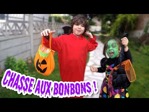 VLOG - CHASSE AUX BONBONS - HALLOWEEN - TRICKS or TREAT