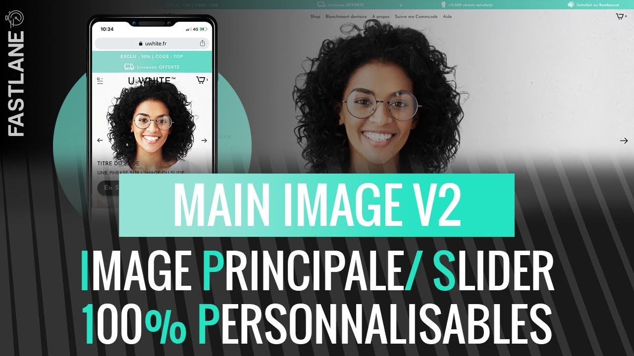 Download Main Image V2 Fastlane Shopify ➡ Personnalisations & Optimisations ++ Desktop/ Mobile