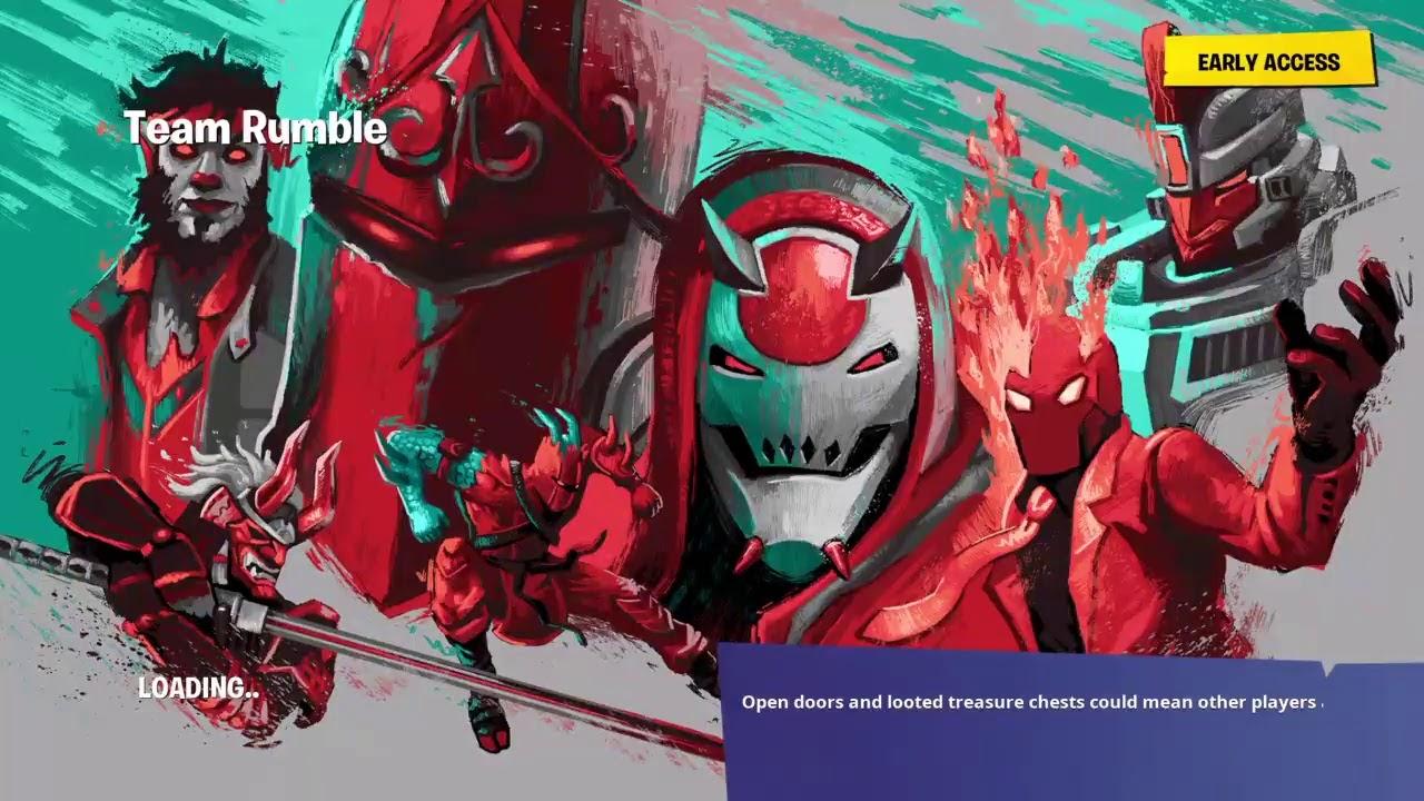 Fortnite Team Rumble Xp