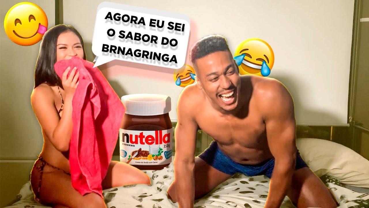3 DOSES DE NUTELLA NA GRINGA PECADO!!!