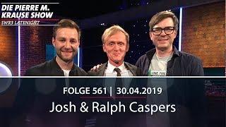 Die Pierre M. Krause Show vom 30.04.2019 mit Pierre, Ralph und Josh.