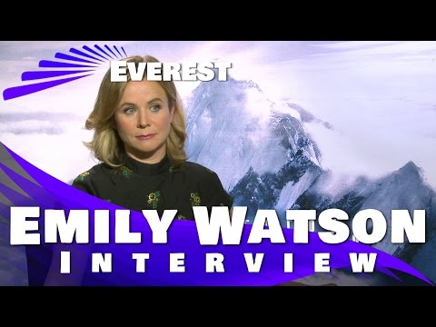 Emily Watson Interview - Everest