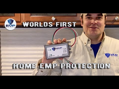 Home EMP Protection Device! EMP SHIELD IS WORLDS FIRST EMP Defense Technology