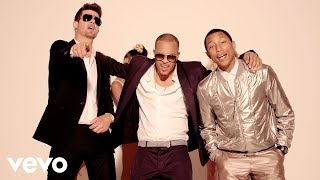 Gambar cover Robin Thicke - Blurred Lines ft. T.I. & Pharrell (Unrated Version)