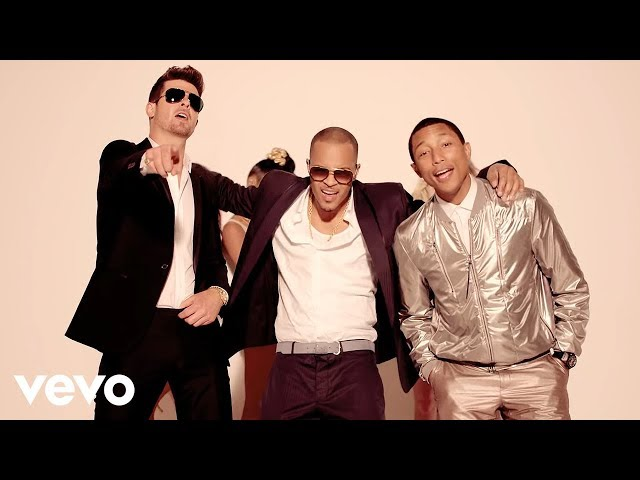 Robin Thicke - Blurred Lines (Unrated Version) ft. T.I., Pharrell