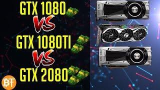 ⛏️GTX 1080,GTX 1080TI,RTX 2080 MINING COMPARISON IN 2018⛏️