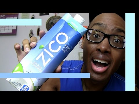 THAT TASTES LIKE (#84)... Zico 100% Natural Coconut Water nasty gross organic yuk - Food Vlog Fun